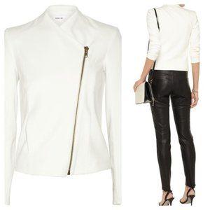 Helmut Lang White Front Zipper Jacket Size M/M